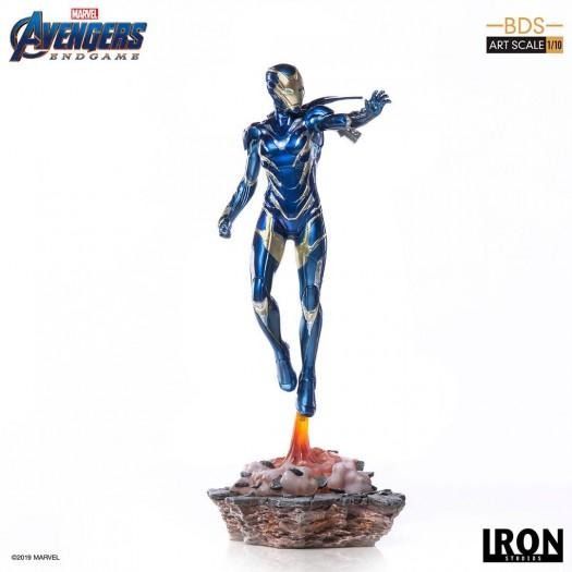 Avengers: Endgame - BDS Art Scale Statue Pepper Potts in Rescue Suit 1/10 25cm
