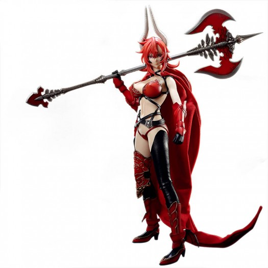 Sin: The 7 Deadly Sins - Satan 1/6 Scale Seamless Action Figure (Doll) 35cm (JP)