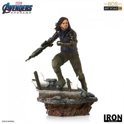 Avengers: Endgame - BDS Art Scale Statue Winter Soldier 1/10 21cm