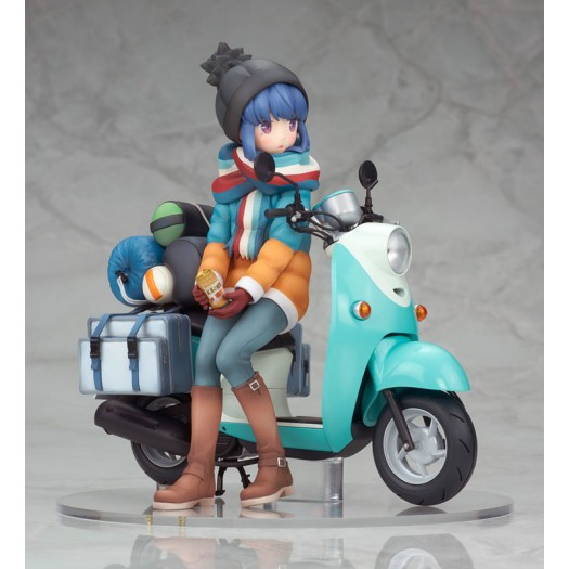 Yurucamp - Shima Rin with Scooter 1/10 15cm (JP)