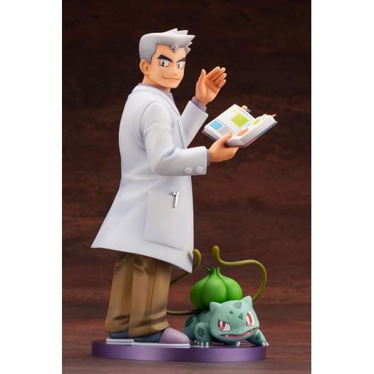 Pokemon Series - ARTFX J Professor Oak with Bulbasaur 1/8 21 - 6cm (JP)