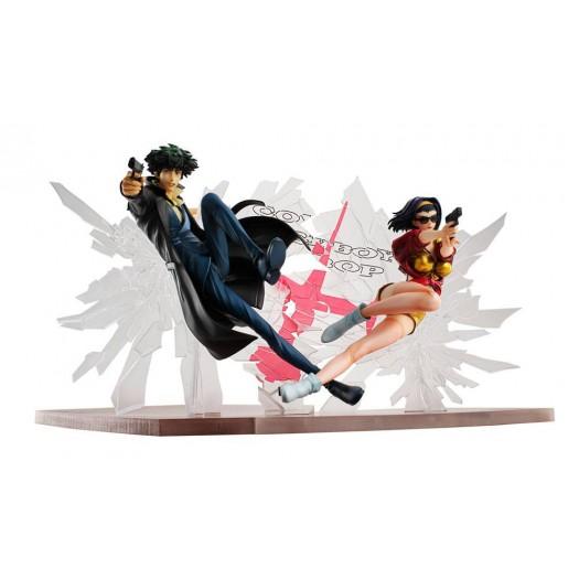 Cowboy Bebop - Spike Spiegel & Faye Valentine 1/8 1st GIG SET 20cm