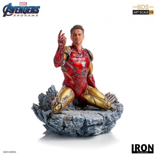 Avengers: Endgame - BDS Art Scale Statue I am Iron Man 1/10 15cm