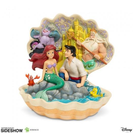 Disney Statue Shell Scene (The Little Mermaid) 20cm