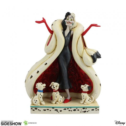 Disney Statue Crudelia De Mon (101 Dalmatians) 21cm