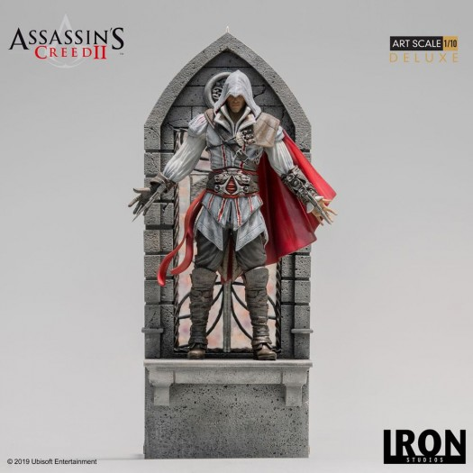 Assassin's Creed II - Art Scale Statue Ezio Auditore Deluxe 1/10 31cm