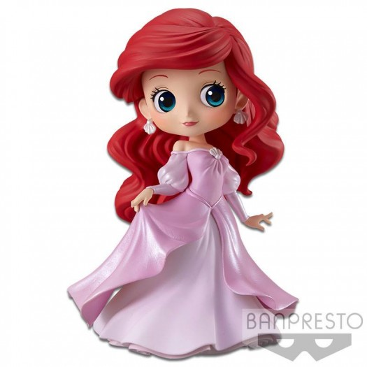 The Little Mermaid - Disney Q Posket Ariel Princess Dress B (Pink Dress) 14cm