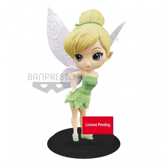 Peter Pan - Disney Q Posket Tinker Bell Leaf Dress Ver. B 14cm