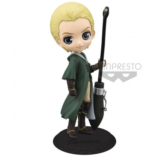 Harry Potter - Q Posket Draco Malfoy Quidditch Style Version A 14cm
