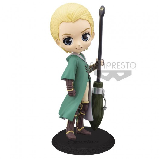 Harry Potter - Q Posket Draco Malfoy Quidditch Style Version B 14cm