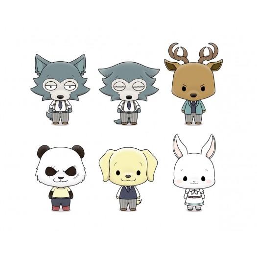 BEASTARS - Chokorin Mascot Series Trading Figure BOX 6 Pezzi 5cm (EU)