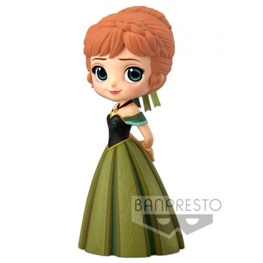 Frozen - Disney Q Posket Anna Coronation Style A Normal Color Version 14cm