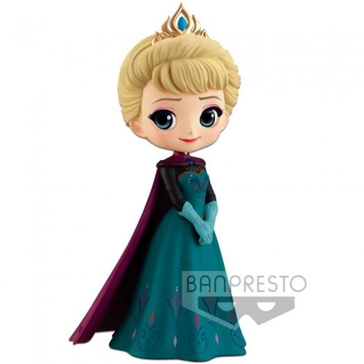 Frozen - Disney Q Posket Elsa Coronation Style A Normal Color Version 14cm